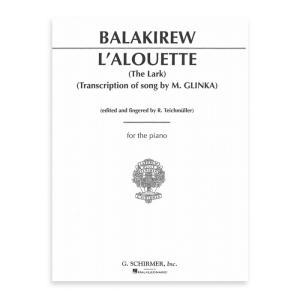 【ピアノ楽譜】ひばり[L' Alouette = Zhavoronok = The Lark: Transcription of Song by M. Glinka]|miyaji-onlineshop