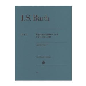 【ピアノ楽譜】イギリス組曲第1番−第3番[Englische Suiten 1-3 BWV 806-808]|miyaji-onlineshop