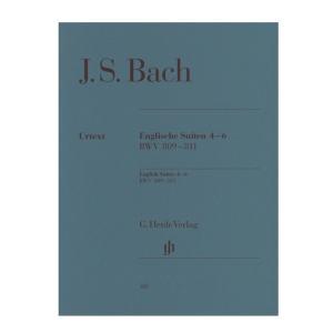 【ピアノ楽譜】イギリス組曲第4番−第6番[Englische Suiten 4-6 BWV 809-811]|miyaji-onlineshop