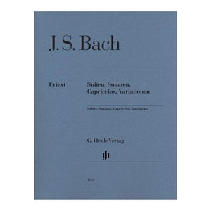 【ピアノ楽譜】組曲、ソナタ、奇想曲、変奏曲[Suiten Sonaten Capriccios Variationen: BWV 818-820 823 832 etc.]|miyaji-onlineshop