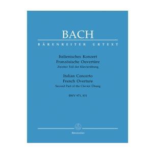 【ピアノ楽譜】イタリア協奏曲;フランス風序曲(クラヴィーア練習曲集第2巻)[Italienisches Konzert BWV 971; Franzosiche Ouverture BWV 831]|miyaji-onlineshop