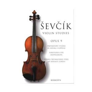 【ヴァイオリン教本】 ヴァイオリン教本 op. 9:ダブル・ストップの準備練習 miyaji-onlineshop