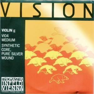 ヴァイオリン弦 VISION(ヴィジョン)G 1/2サイズ用 ※メール便対応|miyaji-onlineshop