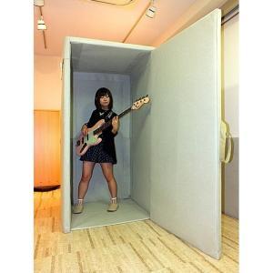 VERY-Q HQP960 Short Booth Set(防音タイプ)[簡易防音室セットアイボリー]|miyaji-onlineshop
