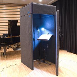 VERY-Q VQ910 Vocal Booth Set(吸音タイプ)[簡易防音室セットグレー]【次回5月入荷予定】|miyaji-onlineshop