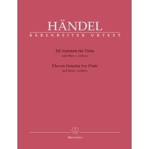 [Flute & Piano]  ヘンデル 11のソナタ ※メール便対応:代引不可 miyaji-onlineshop