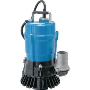 ツルミポンプ 非自動 一般工事排水用水中ハイスピンポンプ HS型  HS2.4S 単相100V 50HZ/60HZ|miyakeki