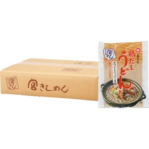 【冬季限定】ご家庭用 鶏だしうどん 14食入 (簡易段ボール箱入り)|miyakishimen