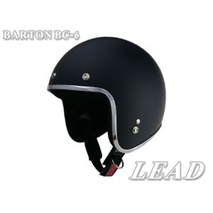 BARTON BC-6 スモール ジェットヘルメット マットブラック miyako-kyoto