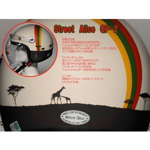 品番 QP-2-AFRICA 品名 QP2 QP-2 レディース用 スモール ジェットヘルメット シ...