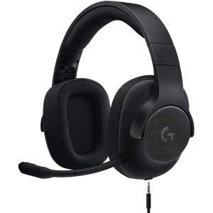 Logicool G ゲーミングヘッドセット G433 BK ブラック Dolby 7.1ch ノイ...