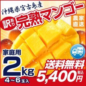 割引クーポン有! 訳あり 宮古島 完熟マンゴー2kg(※4~...