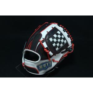 ゼット ZETT 288 内野手用 硬式グローブ 内野用 硬式グローブ グラブ 右投げ 海外 源田