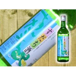 鳴門鯛 すだち酒(リキュール)720ml【徳島県産 徳島県の地酒】