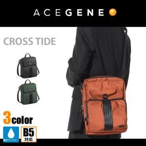 ACEGENE エースジーン ショルダーバッグ クロスタイド 1-51722 ビジネスバッグ メンズ 軽量