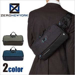 ZERO NEWYORK ゼロ ニューヨーク MIDTOWN 3WAY ボディバッグ ウエストバッグ 1-80771|miyamoto0908