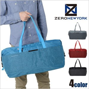 ZERO NEWYORK ゼロニューヨーク ボストンバッグ UPTOWN 1-80783|miyamoto0908