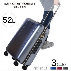 キャサリンハムネット スーツケース 52L KATHARINE HAMNETT ターミナル2 490-9601 2泊〜4泊 出張 旅行 キャリーケース miyamoto0908