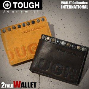 タフ TOUGH 財布 二つ折り財布 INTERNATIONAL メンズ 財布 68752 miyamoto0908