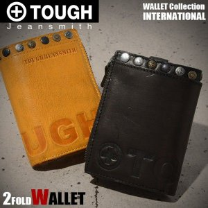 タフ TOUGH 財布 縦型二つ折り財布 INTERNATIONAL メンズ 財布 68753 miyamoto0908