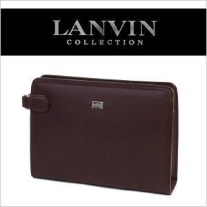 ランバン セカンドバッグ 牛革 メンズ LANVIN 86201|miyamoto0908