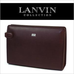 ランバン セカンドバッグ 牛革 メンズ LANVIN 86217|miyamoto0908