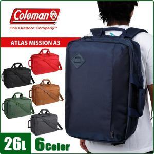 コールマン リュック ビジネスリュック ビジネスバッグ Coleman ATLAS MISSION A3 CAT5091|miyamoto0908
