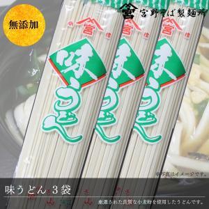 うどん 味うどん 乾麺 250g×3袋 国産 自家製粉 無添加 お試し メール便 送料無料 ポイント消化|miyanosoba