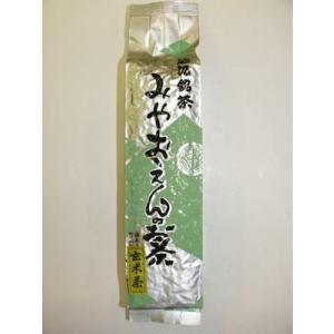 抹茶かりがね玄米茶200g「滋賀の幸」「滋賀県ご当地モール」|miyaoen
