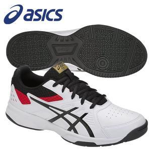 テニスシューズ アシックス コートスライドOC COURT SLIDE OC 1043A001 107 ホワイト×ブラック|miyaspo