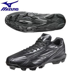 ミズノ 野球スパイク フランチャイズFエディション 11GP144100 ブラック×ブラック|miyaspo
