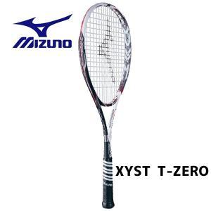 ミズノ ジストTゼロ Xyst T-ZERO ソフトテニスラケット 軟式テニス 63JTN63101 ホワイト×ブラック OU 送料無料|miyaspo