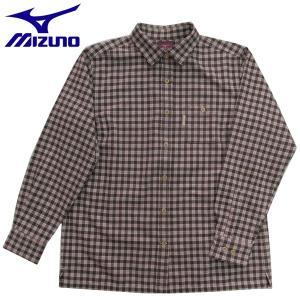 登山シャツ ミズノ 長袖トレイルシャツ アウトドアシャツ レディース 73AW22155 ブラウン|miyaspo