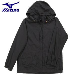 登山ジャケット ミズノ エッセンシャルジャケット アウトドアジャケット レディース 73JL30908 チャコール|miyaspo