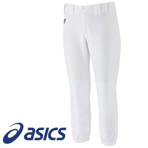 アシックス 野球練習用ユニフォームパンツ レギュラー プラクティスパンツ BAA400 01 ホワイト