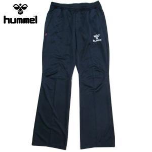 ヒュンメル hummel ジャージ ウォームアップパンツ レディース HLT3005 70 ネイビー Lサイズ