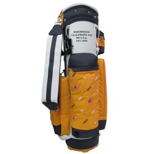 ゴルフキャディバッグ マンシングウェア キャディバッグ レディース MQCSJJ01 YL イエロー 送料無料|miyaspo