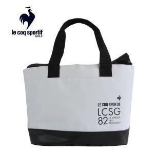 ゴルフポーチ ルコック 保温・保冷バッグ ラウンドバッグ QQBSJA41 WH ホワイト|miyaspo