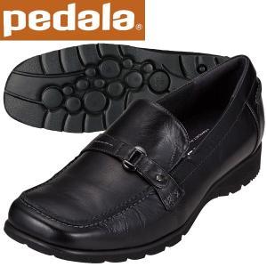 ペダラ ウォーキングシューズ アシックス pedala レディース WP250H 90 ブラック 送料無料|miyaspo