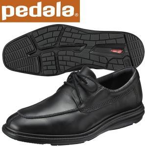 ペダラ ウォーキングシューズ アシックス pedala WP312N 90 ブラック 送料無料|miyaspo