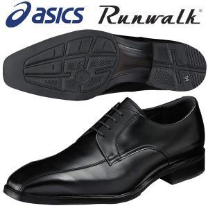 アシックス ウォーキングシューズ 4E ランウォーク Runwalk WR416S 90 ブラック 送料無料 miyaspo