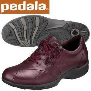 ペダラ ウォーキングシューズ アシックス pedala レディース WS366S P23 Pレッド 送料無料|miyaspo