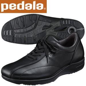 ペダラ ウォーキングシューズ 4E アシックス pedala WS405S 90 ブラック 送料無料 miyaspo
