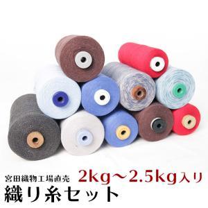 創業百年を越える木綿織物の老舗、宮田織物が国内自社で織り上げるオリジナルテキスタイル和木綿を織る際に...