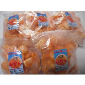 ポイント5倍 訳あり 冷凍みかん 宮崎県産 温州みかん ご家庭用 5kg(1kg×5袋)