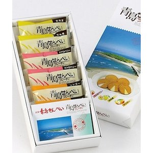 青島せんべいフルーティ 12枚(2枚入×6袋):4580122010058|miyazakikonne
