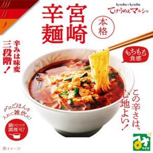 ネコポス 辛麺 本格 宮崎辛麺 1人前×2袋セット 送料込 miyazakikonne