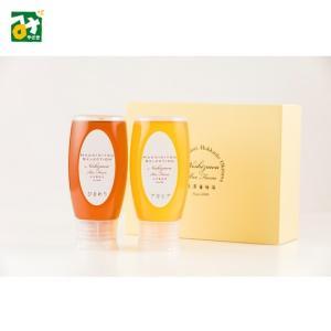 はちみつ 蜂蜜 ギフト アカシアはちみつ ひまわりはちみつ 2本セット 蜂兵衛館 西澤養蜂場|miyazakikonne