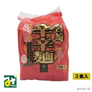 辛麺 宮崎辛辛麺 カラカラメン 3食 miyazakikonne