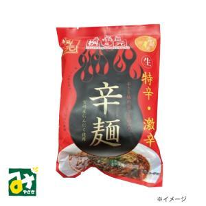 元祖辛麺 辛麺屋 桝元 特辛 激辛 生麺スープ付 一食入 桝元 miyazakikonne